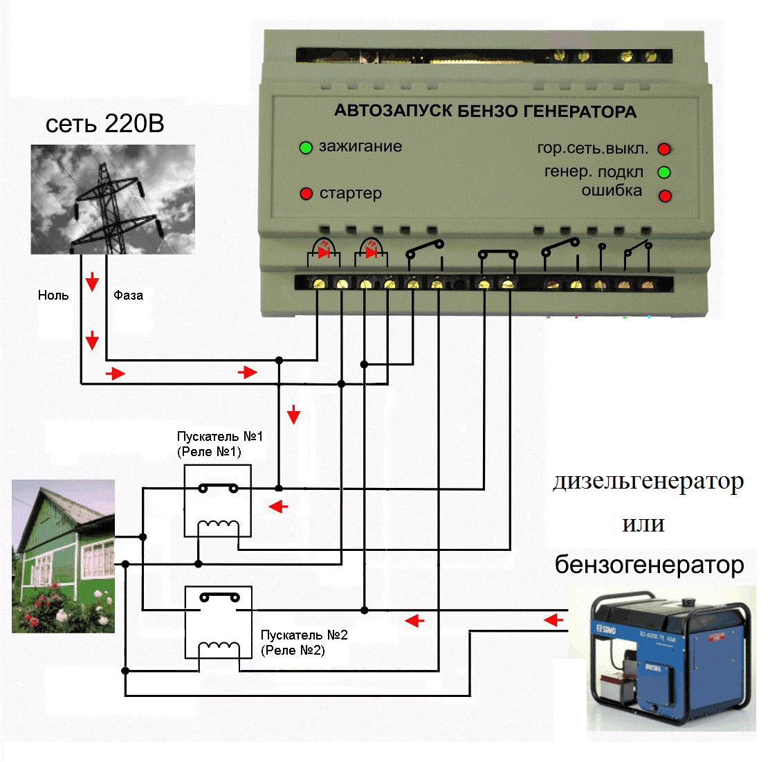 Схема подключения авр к генератору фото 555